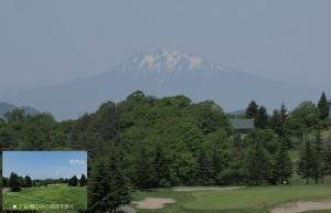 いい景色でゴルフとは?!