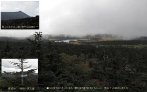 八幡沼の景色