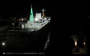 八甲田丸イルミネーション 2
